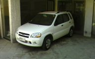 Suzuki White Car 11 Wide Wallpaper
