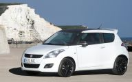 Suzuki White Car 2 Free Wallpaper