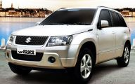Suzuki White Car 21 Car Background Wallpaper