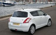 Suzuki White Car 29 Widescreen Wallpaper
