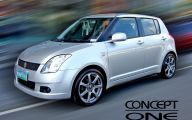 Suzuki White Car 38 Hd Wallpaper
