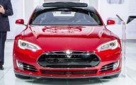 Tesla Automatic Car Display 1 Desktop Wallpaper