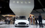 Tesla Automatic Car Display 13 Desktop Wallpaper