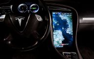 Tesla Automatic Car Display 23 Desktop Background