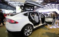 Tesla Automatic Car Display 34 Car Desktop Background