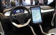 Tesla Automatic Car Display 39 Widescreen Car Wallpaper