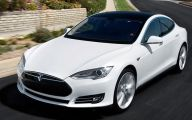 Tesla Automatic Car Display 4 Car Background