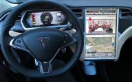 Tesla Automatic Car Display 42 Hd Wallpaper