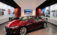 Tesla Automatic Car Display 43 Car Desktop Wallpaper