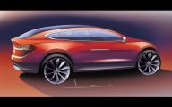 Tesla Automatic Car Display 8 Widescreen Wallpaper