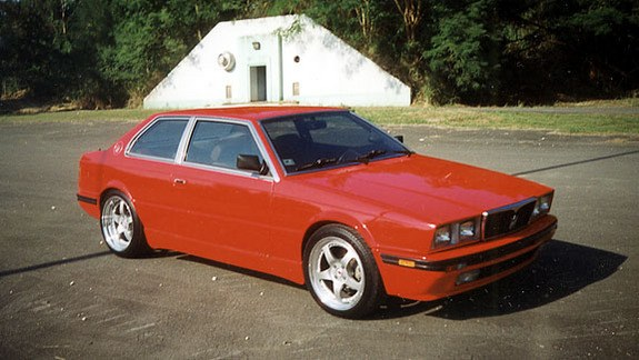 1984 Maserati Biturbo 3 Car Background
