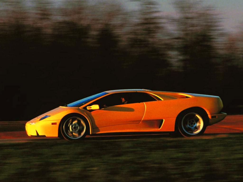 2001 Lamborghini  Diablo 5 Desktop Wallpaper