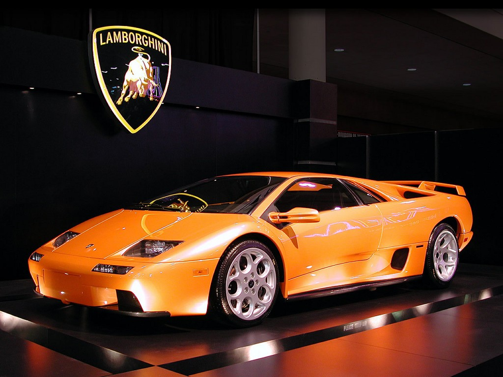 2001 Lamborghini Diablo 6 Widescreen Car Wallpaper