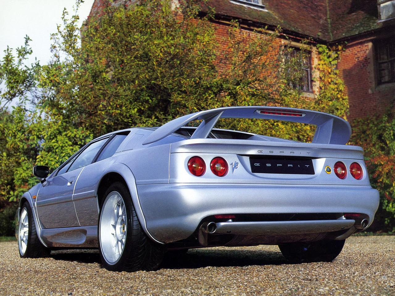 2004 Lotus Esprit 6 Widescreen Car Wallpaper
