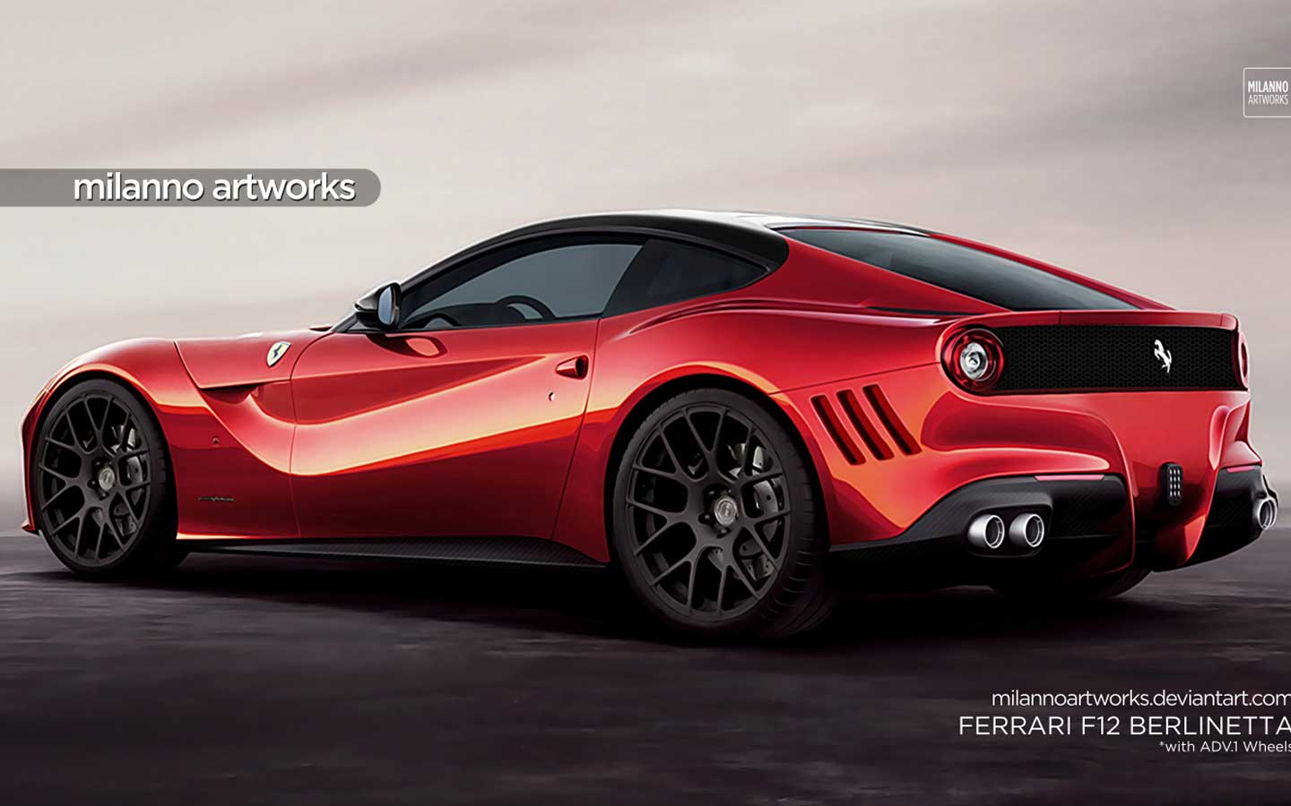 2015 Ferrari  F12 Berlinetta 37 Background Wallpaper