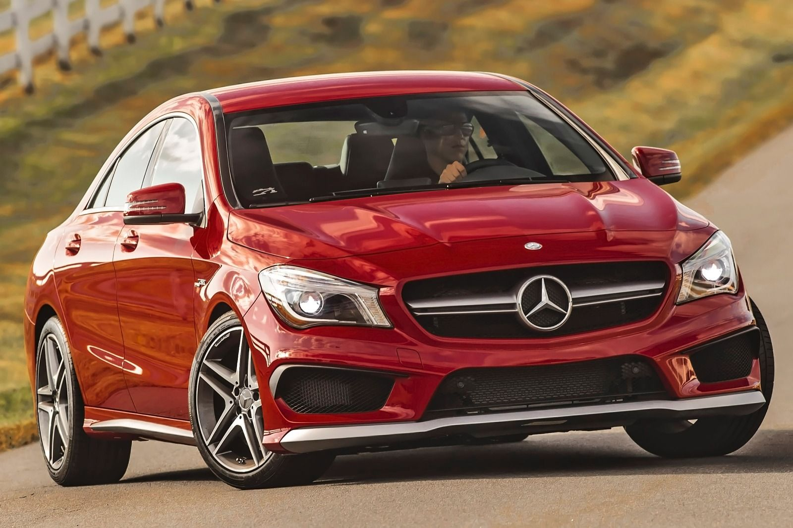 2015 Mercedes Benz Cla Class 10 Widescreen Car Wallpaper