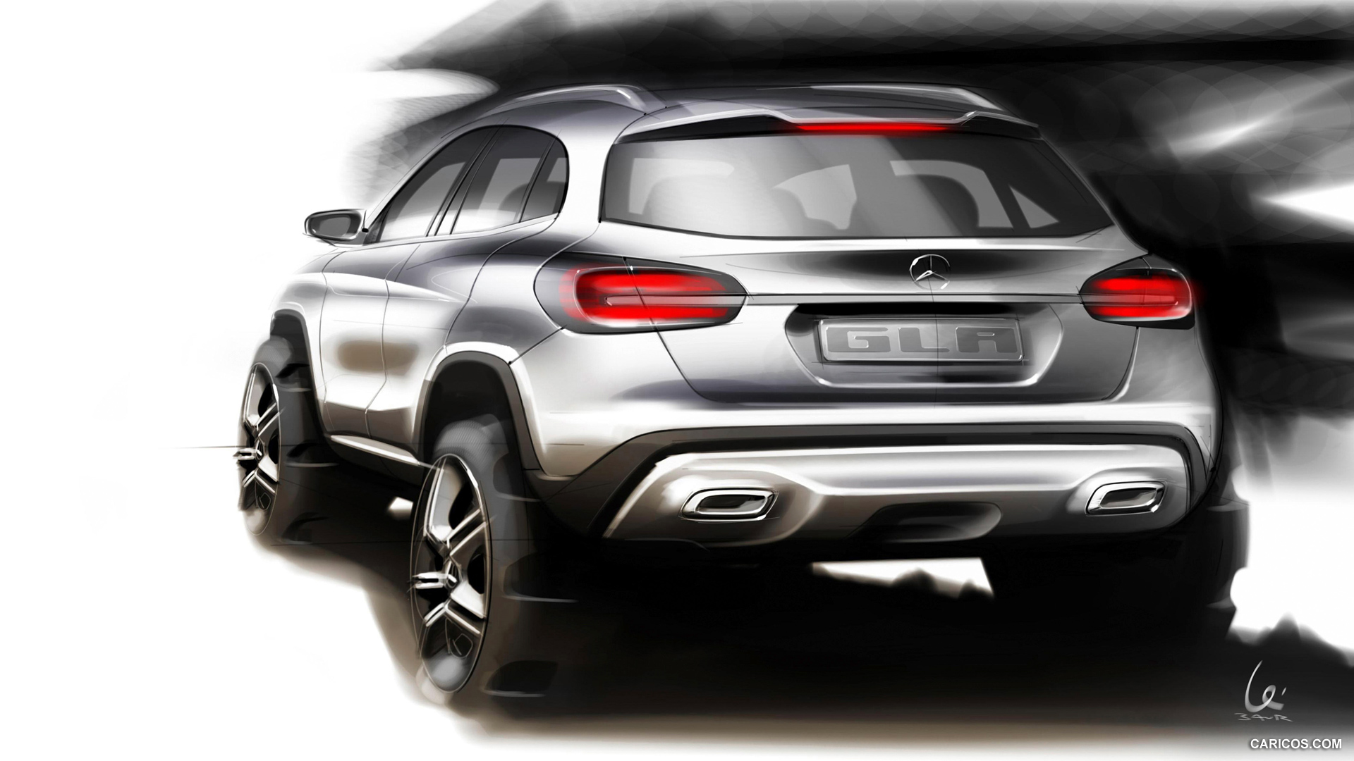 2015 mercedes benz gla class 17 free hd car wallpaper. Black Bedroom Furniture Sets. Home Design Ideas