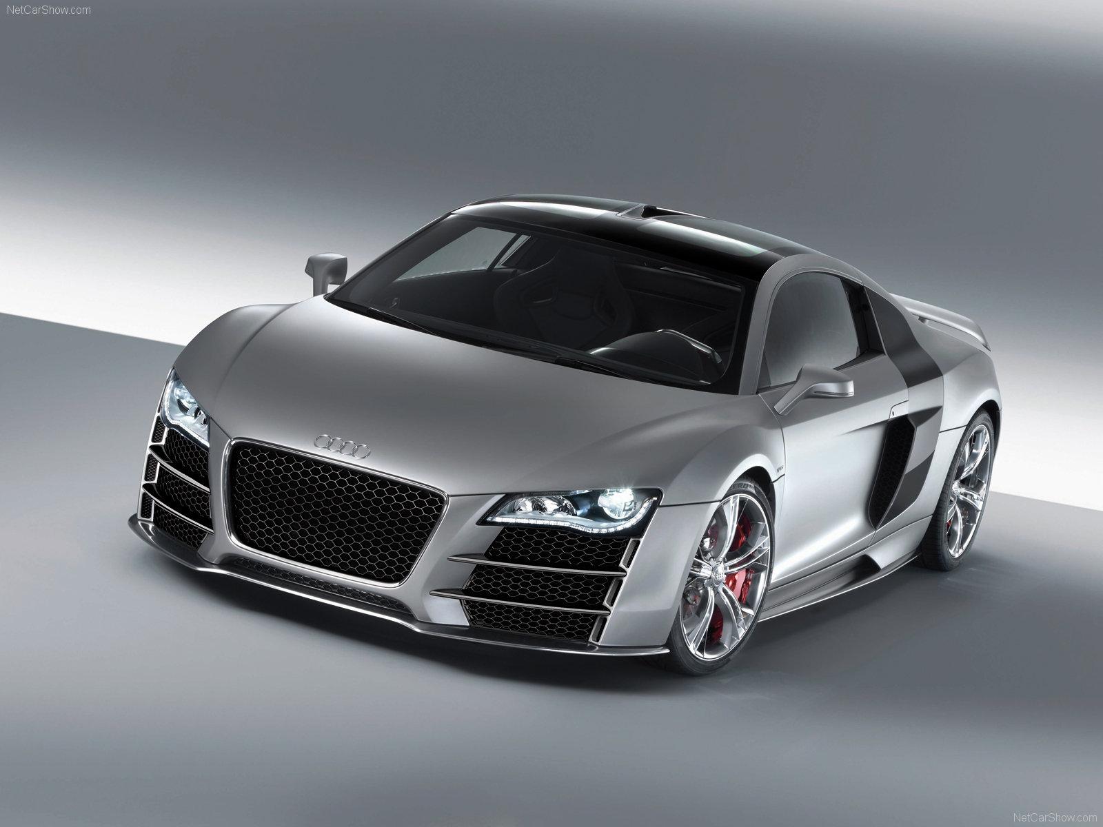 Audi R8 41 Car Desktop Background