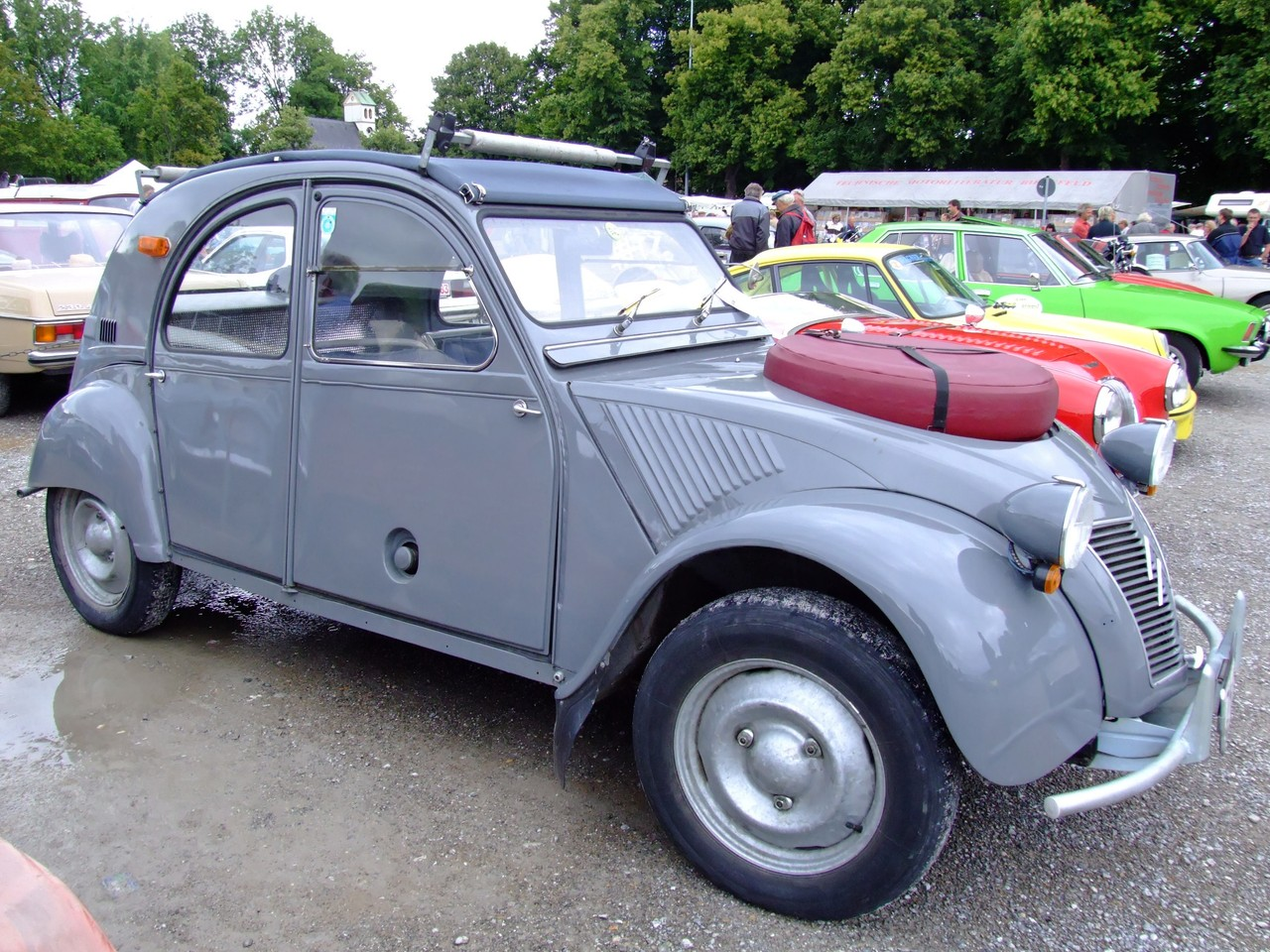 citroen 2cv 5 wide car wallpaper