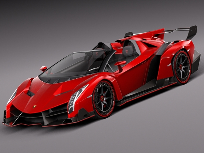 Lamborghini Veneno 2014 3 High Resolution Car Wallpaper