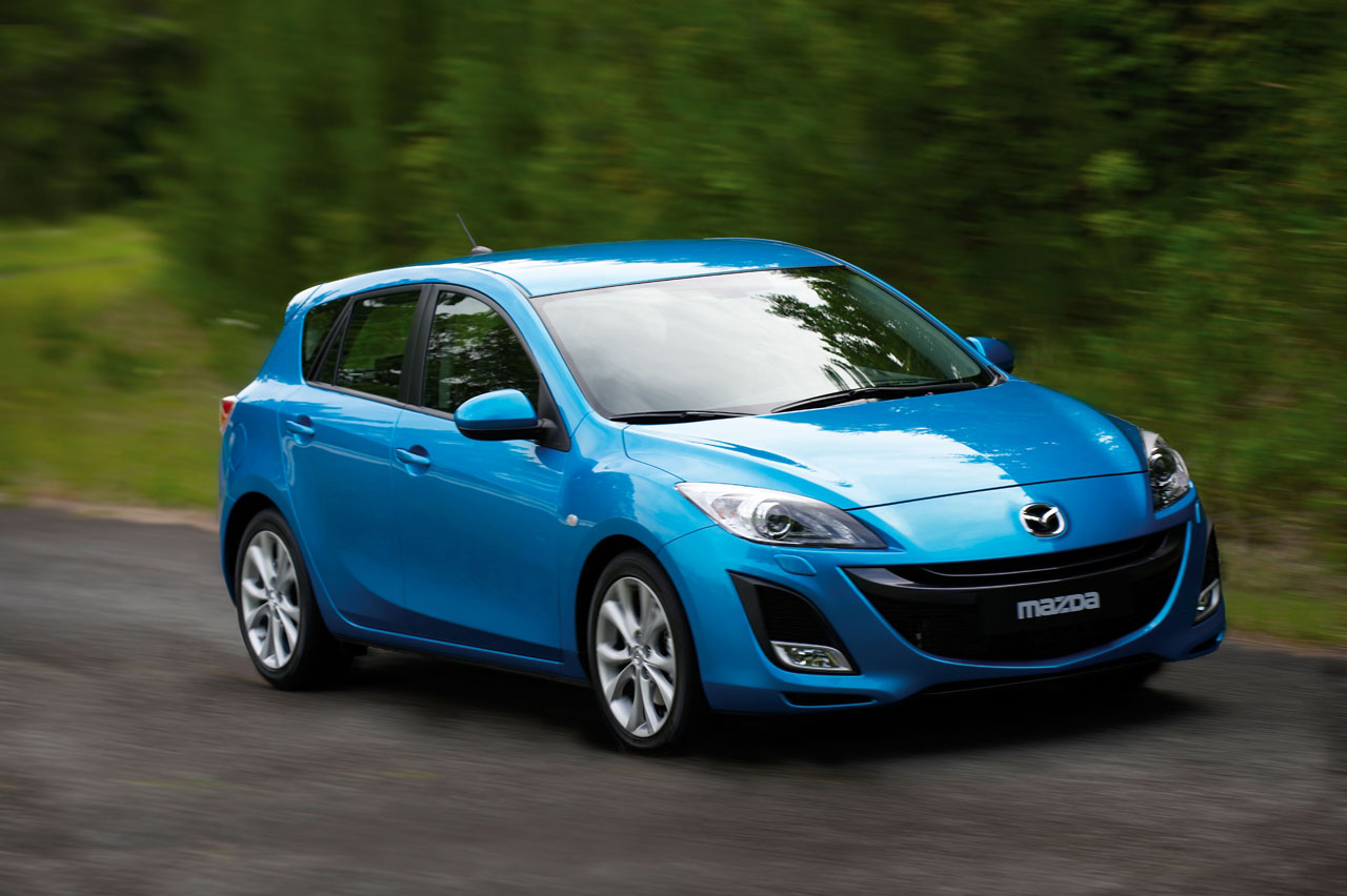 Mazda 3 34 Widescreen Car Wallpaper