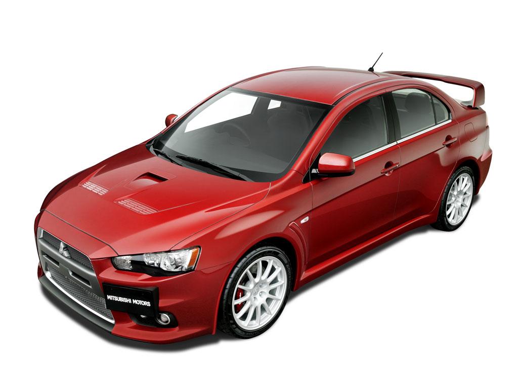 Mitsubishi Evo 4 Wide Car Wallpaper