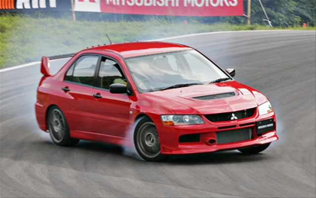Mitsubishi Evo 38 Wide Car Wallpaper