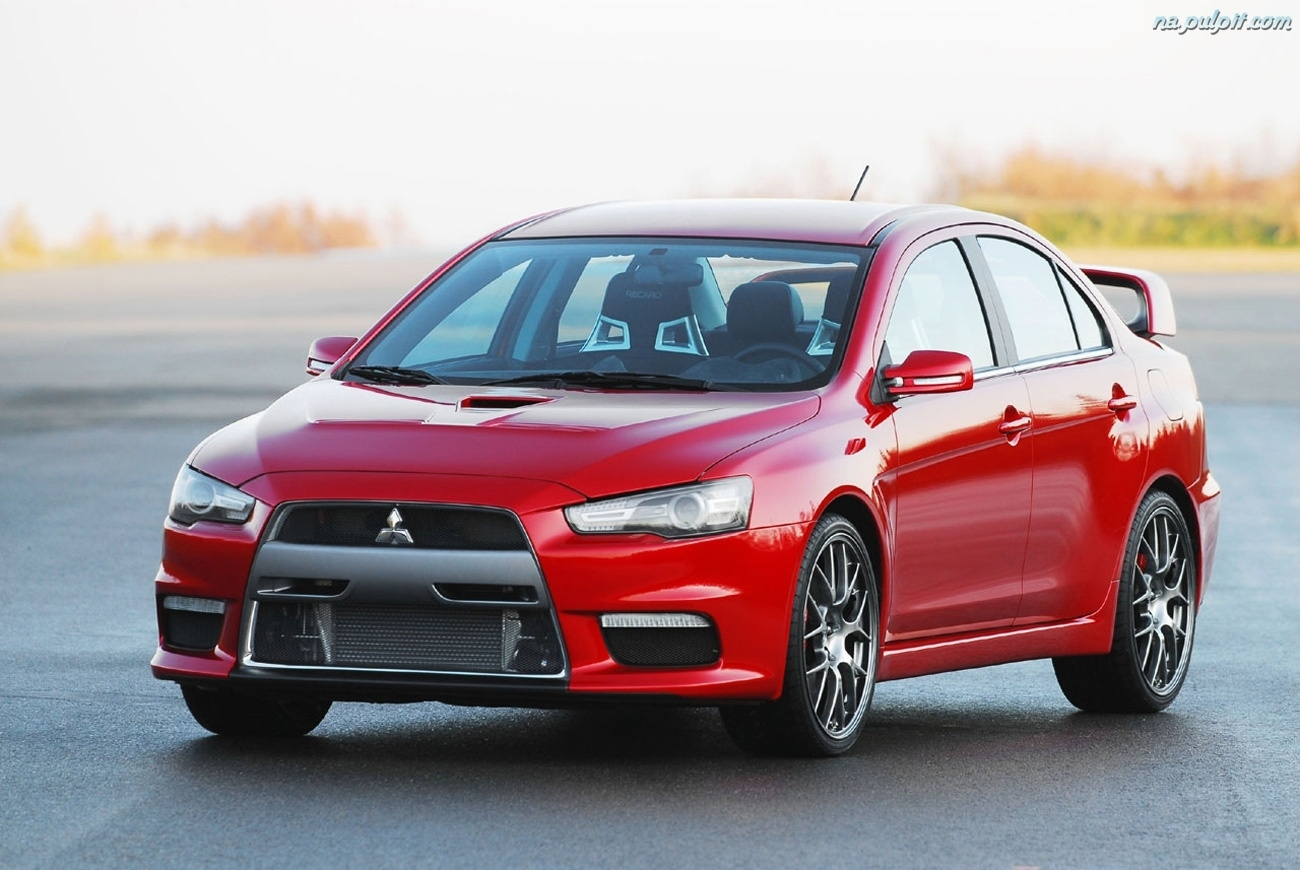 mitsubishi lancer evolution 12 car hd wallpaper. Black Bedroom Furniture Sets. Home Design Ideas