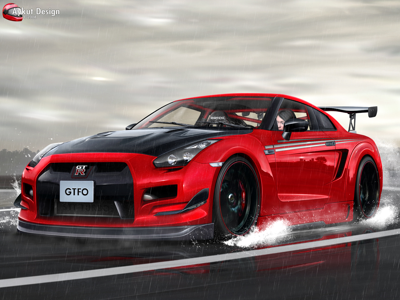 4 nissan gtr High Resolution Car Wallpapers