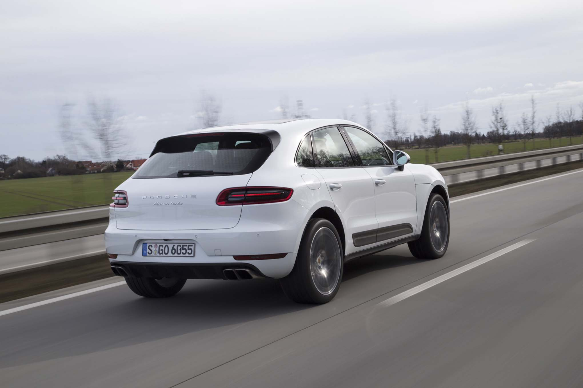 Porsche Macan Turbo 5 Cool Hd Wallpaper