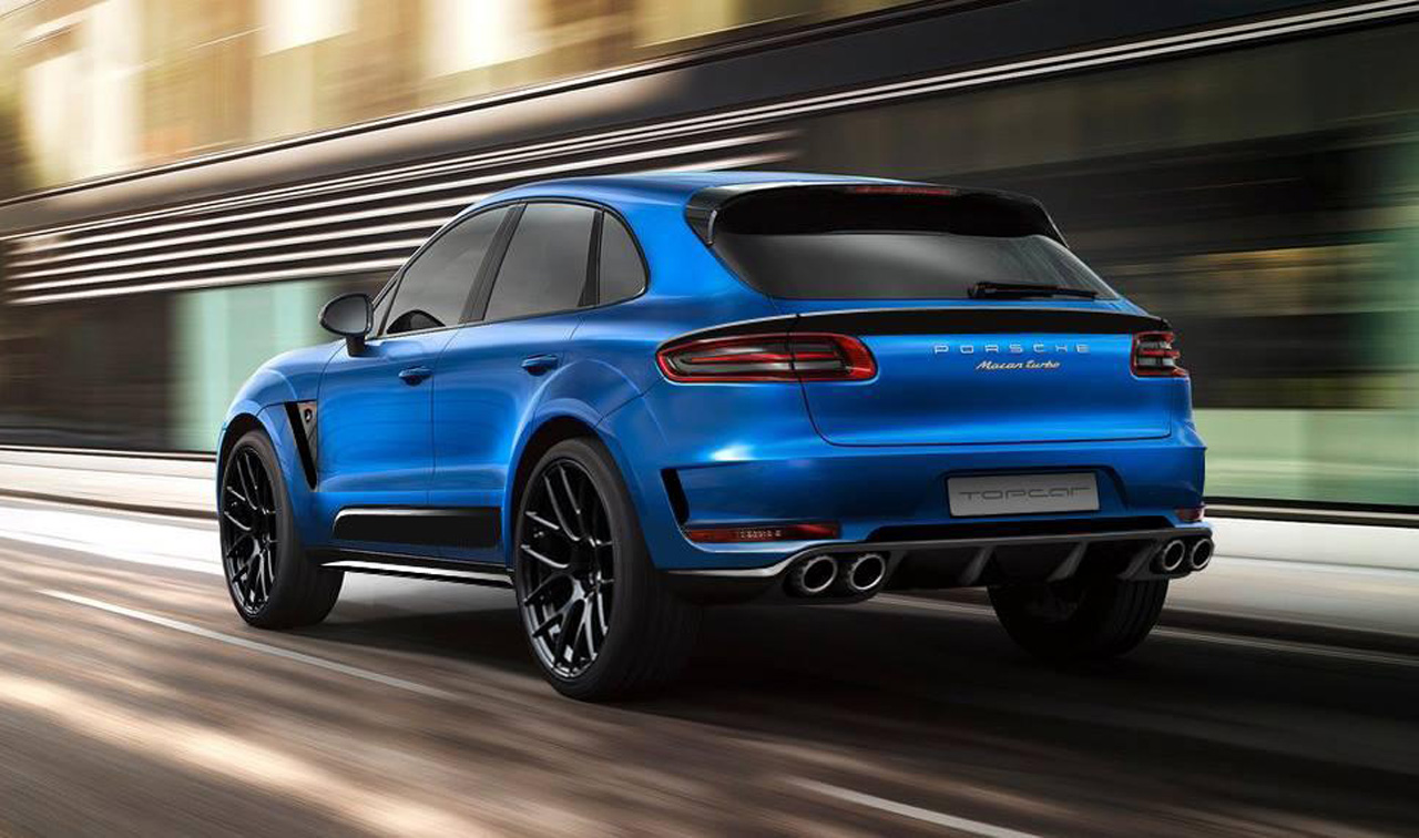 Porsche Macan Turbo 7 Wide Car Wallpaper