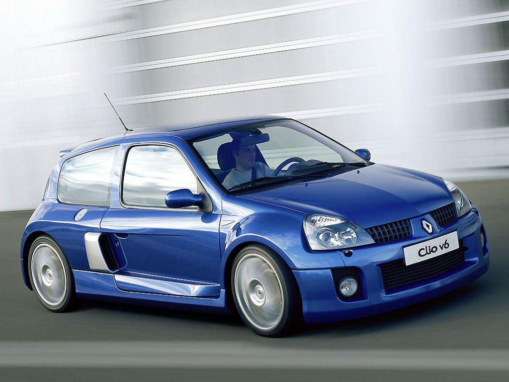Renault Clio 24 Car Hd Wallpaper