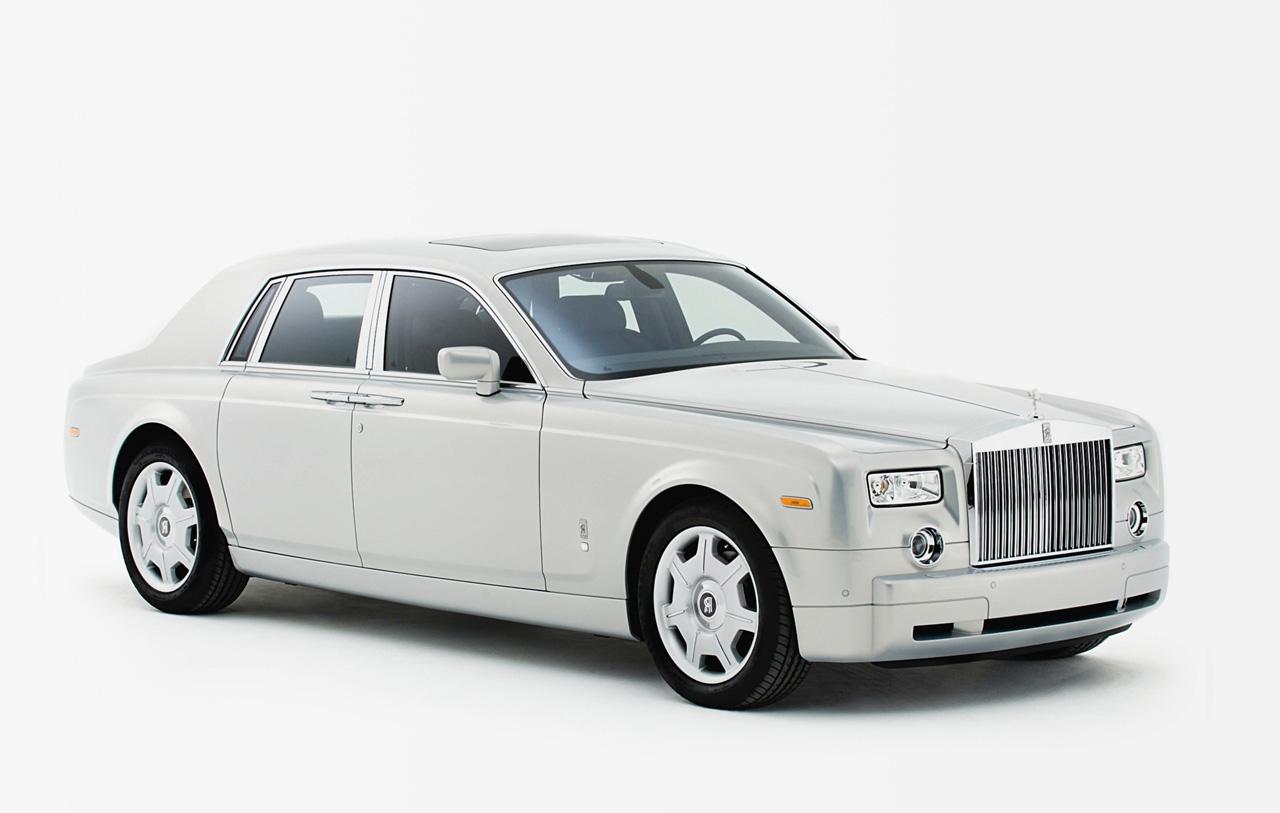 White Rolls Royce Wallpaper