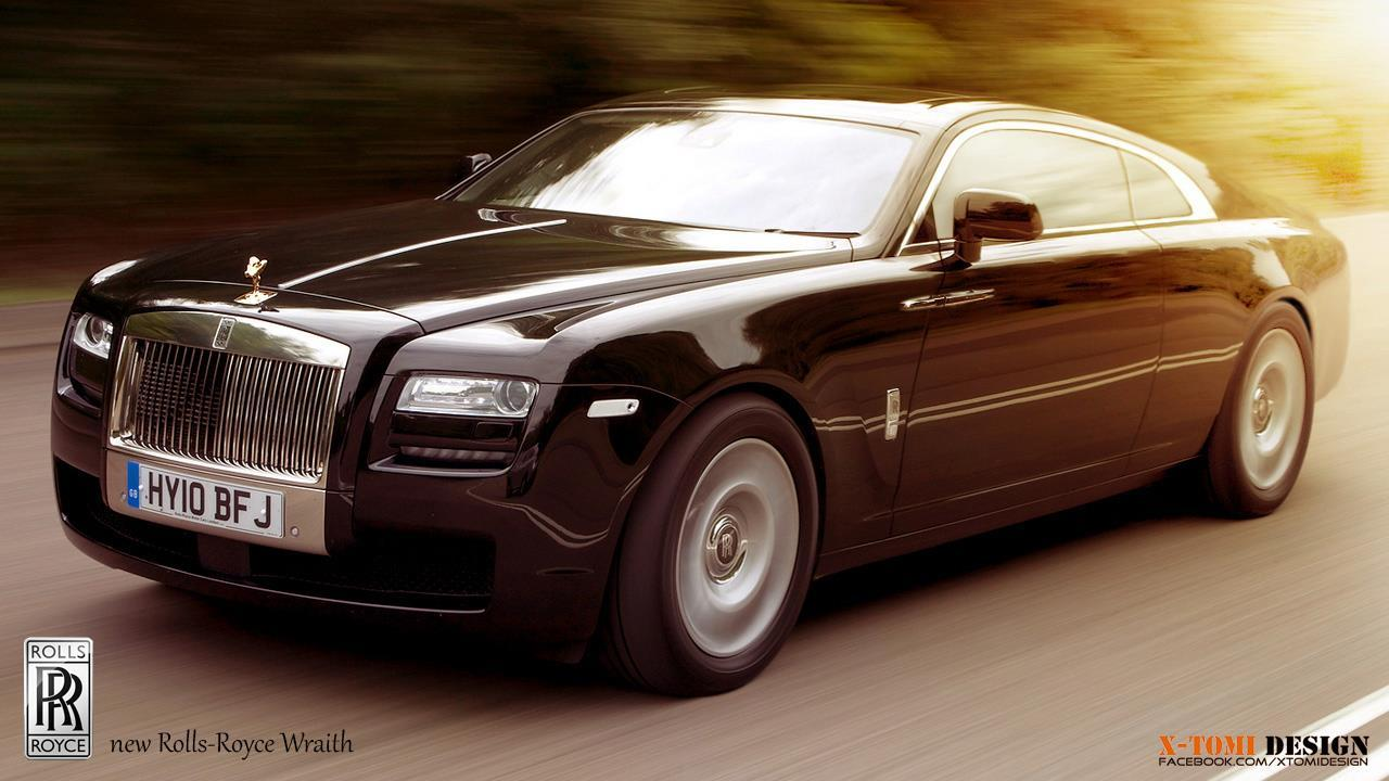 Rolls Royce Wraith 25 Background Wallpaper