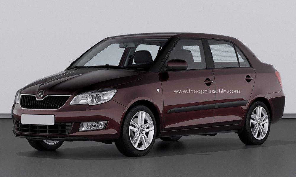 skoda fabia 1 widescreen car wallpaper. Black Bedroom Furniture Sets. Home Design Ideas