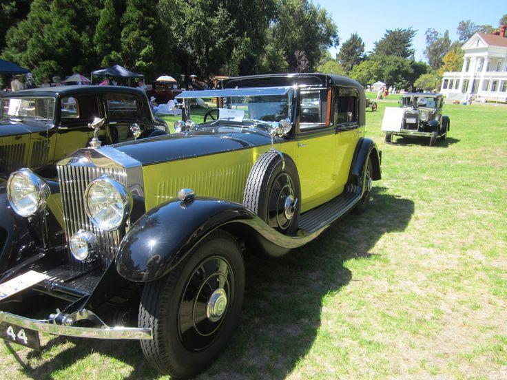 Yellow Rolls-Royce 29 Widescreen Car Wallpaper