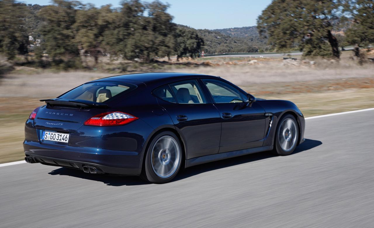 Porsche panamera 2013 gts