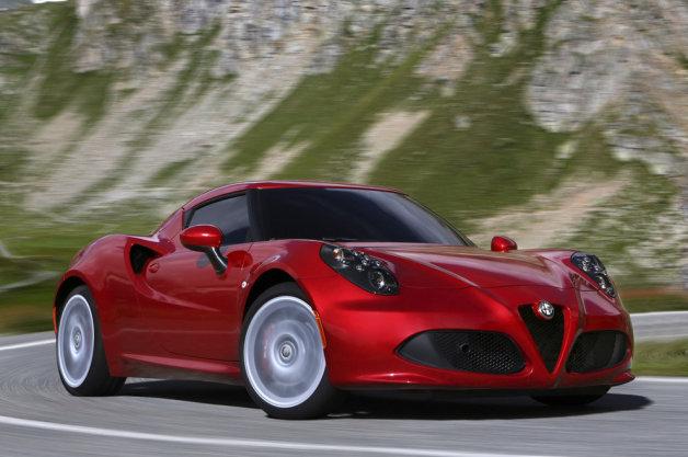 Alfa Romeo 4C Cost 18 Car Desktop Background