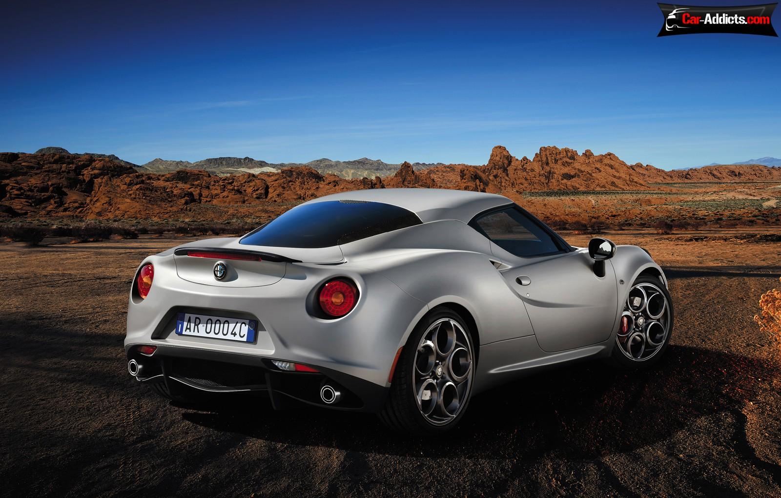 Alfa Romeo 4C Cost 26 Car Background
