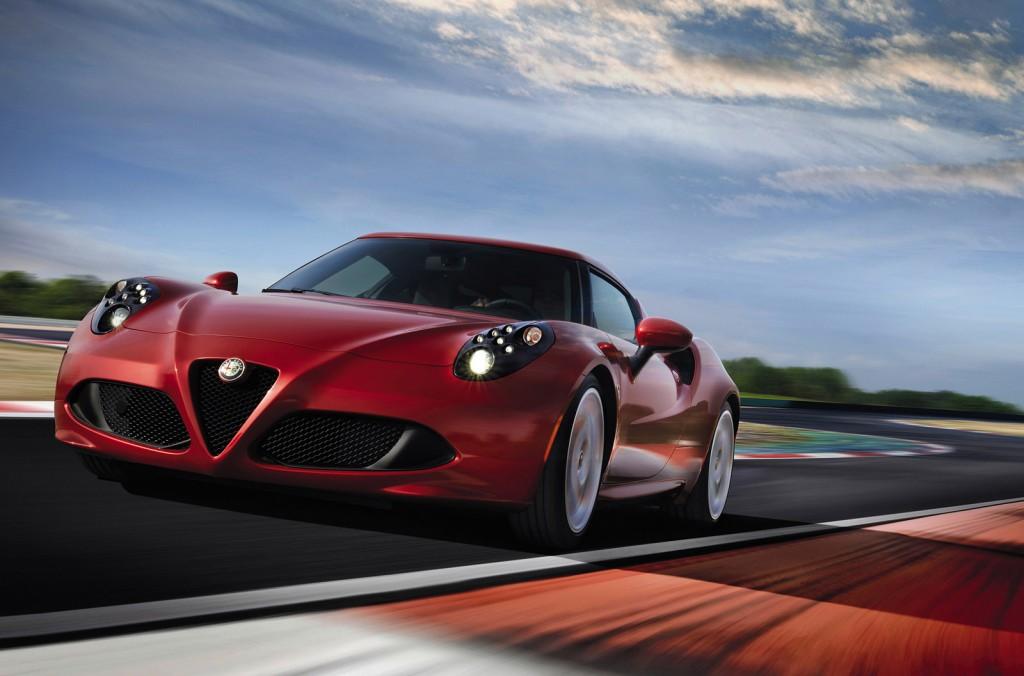 Alfa Romeo 4C Cost 7 Widescreen Car Wallpaper