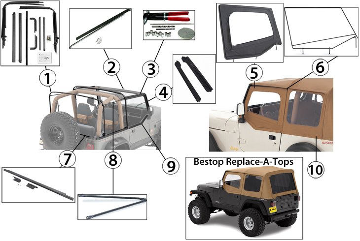 Jeep Wrangler Parts 3 Car Hd Wallpaper