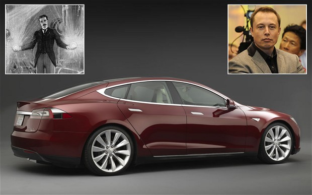 Tesla Motors Nikola Tesla 6 Car Background