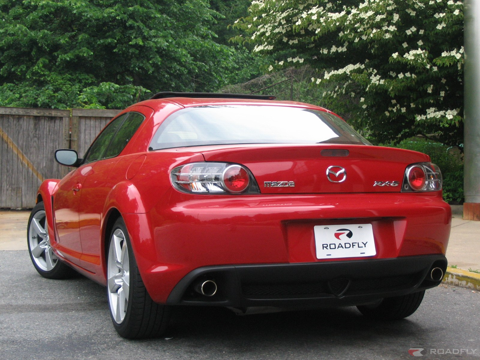 Mazda Sports Car 4 Background