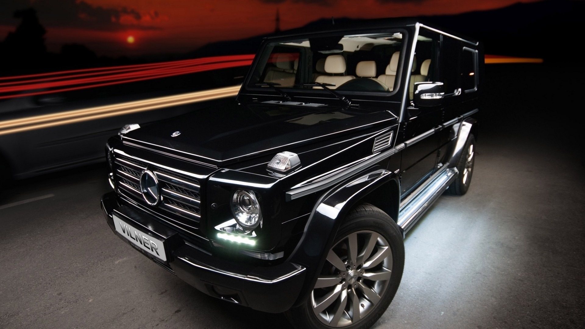 Mercedes-Benz Black 22 Cool Hd Wallpaper