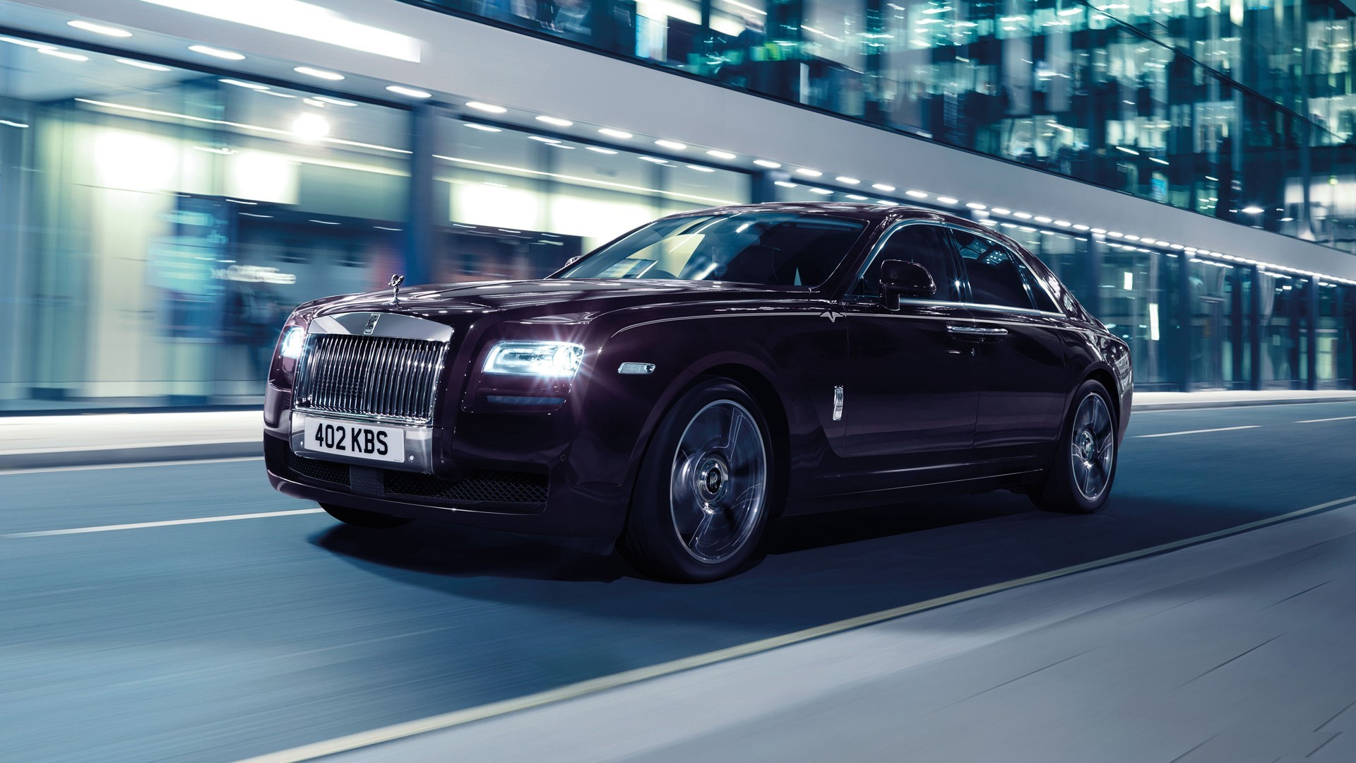New Rolls Royce 21 Wide Car Wallpaper