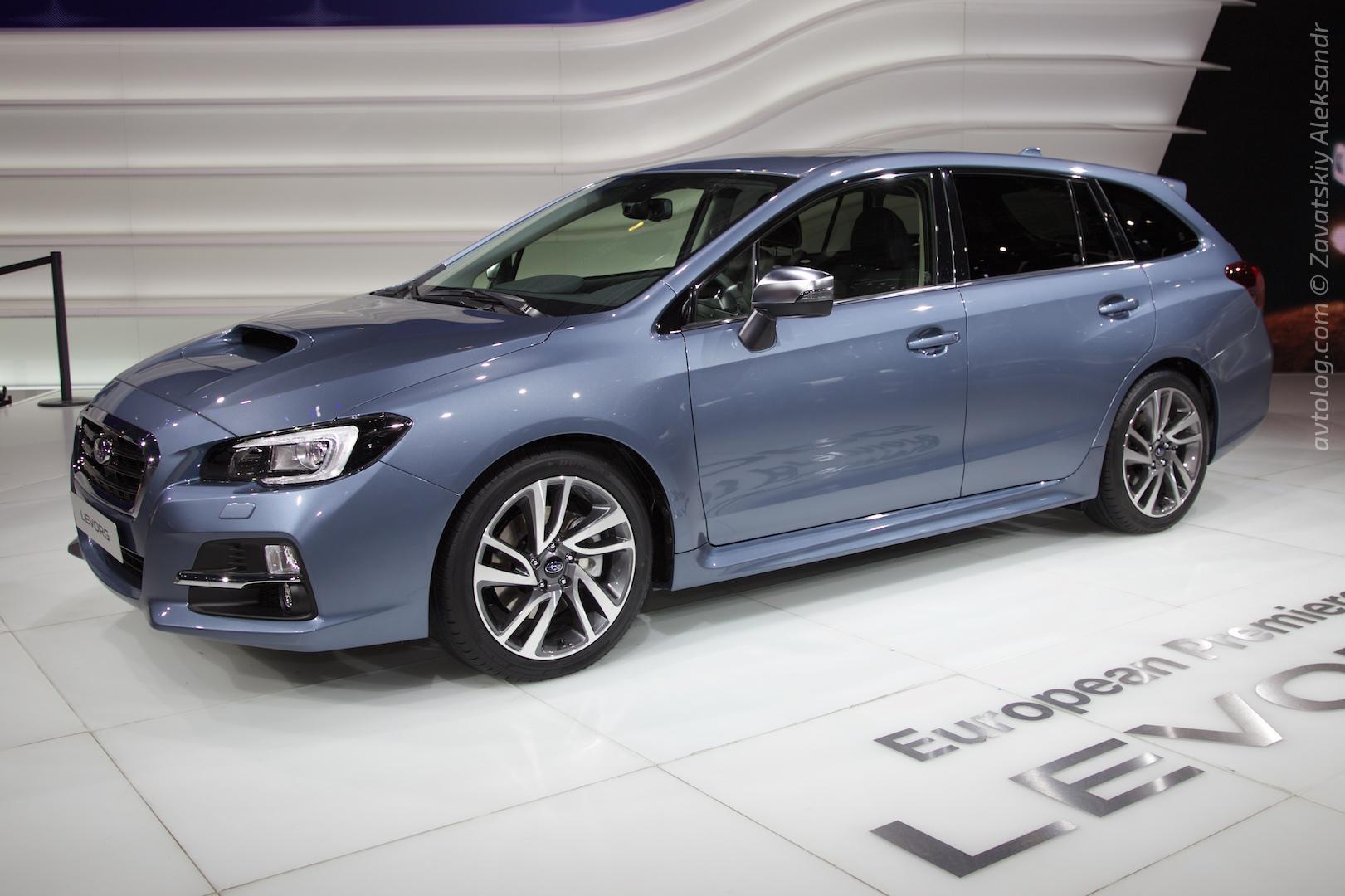 Subaru Levorg 25 Desktop Background