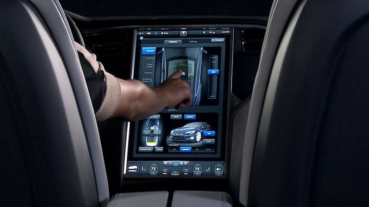 Tesla Automatic Car Display 15 Free Car Wallpaper