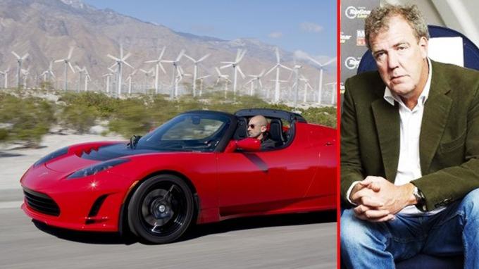 Tesla Top Gear 13 Car Desktop Background